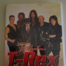 Vídeos y DVD Musicales: T-REX BACK IN BUSSINESS. Lote 204776825