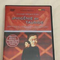 Vídeos y DVD Musicales: DVD IPHIGENIE EN TAURIDE - CON LIBRITO. OPERNHAUS ZURICH. CHRISTOPH WILLIBALD GLUCK.. Lote 205373043