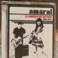 Vídeos y DVD Musicales: AMARAL DVD. Lote 205384646