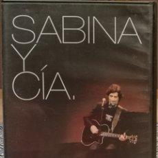 Vídeos y DVD Musicales: SABINA Y CIA EN DVD. Lote 205385192