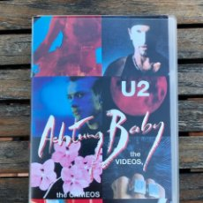 Vídeos y DVD Musicales: U2, CINTA VHS - ACHTUNG BABY, THE VIDEOS, THE CAMEOS AND A WHOLE LOT OF FROM ZOO TV-.POLYGRAM VIDEO.. Lote 205669427