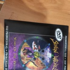 Vídeos y DVD Musicales: DVD SEVEN WITCHES 'YEARS OF THE WITCH'. Lote 205688553