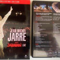 Vídeos y DVD Musicales: JEAN MICHEL JARRE SOKIDARNOSC LIVE COLLECTOR EDITION. Lote 206224666