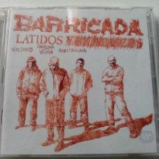 Vídeos y DVD Musicales: DVD CONCIERTO BARRICADA - LATIDOS Y MORDISCOS. Lote 213471671
