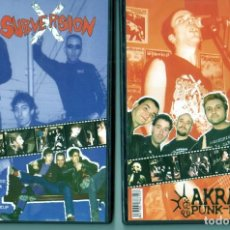 Vidéos y DVD Musicaux: SUBVERSION X + AKRATA DIRECTO A LA YUGULAR. Lote 206828873