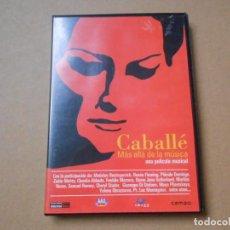 Vídeos y DVD Musicales: CABALLE - MAS ALLA DE LA MUSICA - DVD OPERA. Lote 206832111
