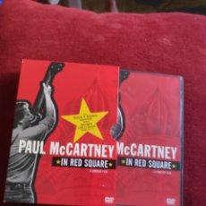 Vídeos e DVD Musicais: PAUL MCCARTNEY - DVD - IN RED SQUARE - A CONCERT FILM - SUB EN ESPAÑOL. Lote 206909977
