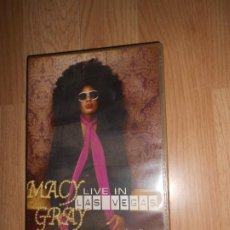 Vídeos y DVD Musicales: MACY GRAY - LIVE IN LAS VEGAS - DVD. Lote 207417441