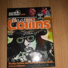 Vídeos y DVD Musicales: BOOTSY COLLINS & THE NEW RUBBER BAND - LIVE IN CONCERT 1998 - DVD + CD. Lote 207420268