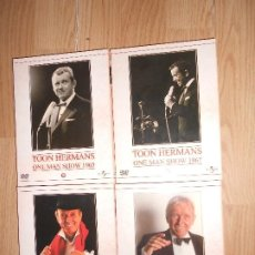 Vídeos y DVD Musicales: TOON HERMANS - ONE MAN SHOW 1965 / 1967 / 1984 / 1997 - 8-DVDS. Lote 207541851