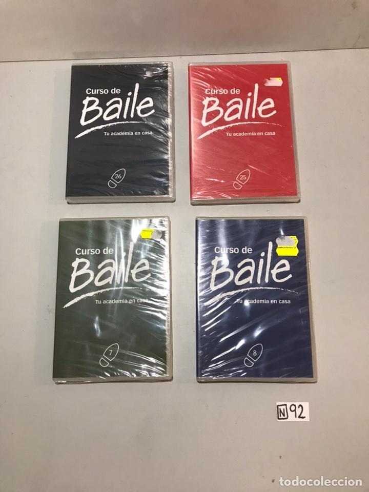 LOTE DE DVDS BAILE (Música - Videos y DVD Musicales)