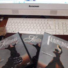 Vídeos e DVD Musicais: PACK DE 2 DVDS DE CARLOS SAURA. SEVILLANAS/FLAMENCO. EDICION DE 2008 REMASTERIZADA. RARA. Lote 207661216