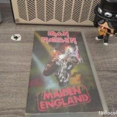 Vídeos y DVD Musicales: IRON MAIDEN - MAIDEN ENGLAND. Lote 207725155