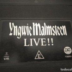 Vídeos y DVD Musicales: YNGWIE MALMSTEEN - LIVE!! BRASIL. Lote 207725608
