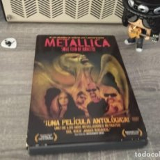 Vídeos y DVD Musicales: METALLICA- SOME KIND OF MONSTER 2 DVD´S + 4 POSTALES CON CUBIERTA DE CARTON. Lote 207725931