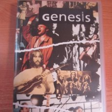 Vídeos y DVD Musicales: VHS GENESIS A HISTORY. Lote 208133258