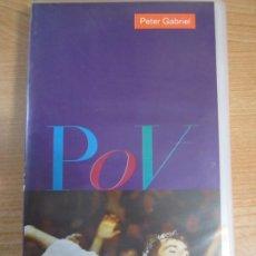 Vídeos y DVD Musicales: VHS PETER GABRIEL POV. Lote 208133973