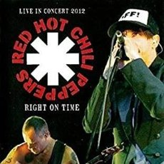Vidéos y DVD Musicaux: RED HOT CHILI PEPPERS - RIGHT ON TIME: LIVE IN CONCERT 2012 (PRECINTADO). Lote 208476417
