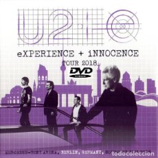 Vidéos y DVD Musicaux: U2 - INNOCENCE + EXPERIENCE TOUR - LIVE IN BERLIN, 13 NOVEMBER 2018 DVD. Lote 208579302