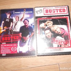 Vídeos y DVD Musicales: BUSTED - A TICKET FOR EVERYONE : BUSTED LIVE - DVD + DVD DE REGALO A PRESENT FOR EVERYONE. Lote 208961946