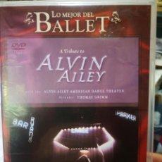 Vidéos y DVD Musicaux: DVD LO MEJOR DEL BALLET A TRIBUTE TO ALVIN AILEY. Lote 209020828