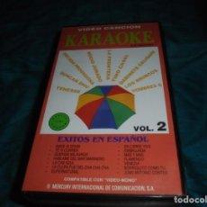 Vídeos e DVD Musicais: KARAOKE. VIDEO CANCION, VOL. 2 : TINO CASAL, HOMBRES G., ROCIO JURADO, DUNCAN DHU ....VHS. Lote 209312081