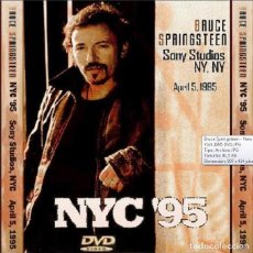 Vídeos y DVD Musicales: BRUCE SPRINGSTEEN - LIVE IN SONY STUDIOS, NEW YORK CITY, 5 APRIL 1995 (DVD). Lote 209615115