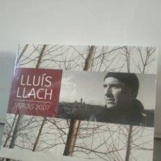 Vídeos y DVD Musicales: LLUÍS LLACH TRIPLE CD GRABADO EN DIRECTO EN VERGES LOS DÍAS 23 Y 24 DE MARZO DE 2007 - NUEVO -. Lote 209893356