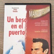 Vídeos y DVD Musicales: MANOLO ESCOBAR - UN BESO EN EL PUERTO. Lote 209980328