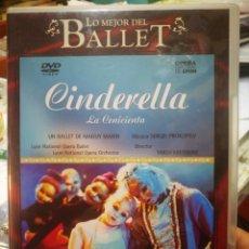 Vidéos y DVD Musicaux: DVD LO MEJOR DEL BALLET LA CENICIENTA. Lote 210478617