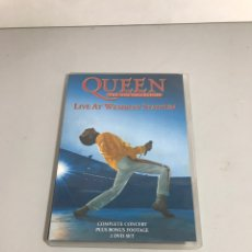 Vídeos y DVD Musicales: QUEEN - LIVE AT WEMBLEY STADIUM. Lote 210637031