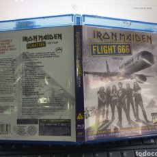 Vidéos y DVD Musicaux: IRON MAIDEN BLU-RAY DISC FLIGHT 666 THE FILM 2009. Lote 211757460