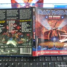 Vídeos y DVD Musicales: IRON MAIDEN EN VIVO BLU-RAY DISC LIVE AT ESTADIO NACIONAL, SANTIAGO 2012. Lote 211758181