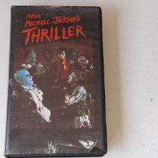 Vídeos y DVD Musicales: ANTIGUA CINTA VHS MAKING MICHAEL JACKSON´S THRILLER VERSION ESPAÑOLA JOHN LANDIS LAX VIDEO AÑO 1983. Lote 211763382