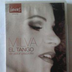 Vídeos y DVD Musicales: MILVA EL TANGO- ASTRO PIAZZOLLA- DVD. Lote 211817628