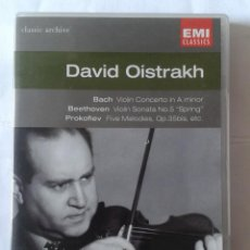 Vídeos y DVD Musicales: DAVID OISTRAKH- CLASSIC ARCHIVE- DVD. Lote 211818331