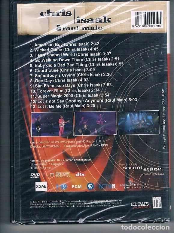 Vídeos y DVD Musicales: CHRIS ISAAK DVD SIN DESEMBALAR / VER EXPLICACIÓN - Foto 2 - 114940879