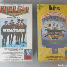 Vídeos y DVD Musicales: LOTE 2 VHS THE BEATLES PELICULAS HELP Y MAGICAL MYSTERY TOUR. Lote 212135522