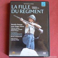 Vídeos y DVD Musicales: LA FILLE DU RÉGIMENT - GAETANO DONIZETTI - THE ROYAL OPERA - DVD. Lote 212202336