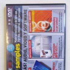 Vídeos y DVD Musicales: FUTURE MUSIC DVD NUEVO 3700 SAMPLES LOOPS FX PERCUSION PRODUCTOR HIP HOP ELECTRO DUB REGGAE [2006]. Lote 212842532