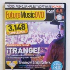 Vídeos y DVD Musicales: FUTURE MUSIC DVD NUEVO 3148 SAMPLES LOOPS FX PERCUSION PRODUCTOR HIP HOP ELECTRO DUB TRANCE DJ[2005]. Lote 212842911