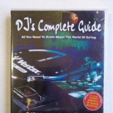 Vídeos y DVD Musicales: DJ'S COMPLETE GUIDE ( GUIA COMPLETA PARA DJ ) HIP HOP ELECTRO HOUSE DANCE SPECIAL EDITION DVD [2002]. Lote 212843171
