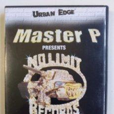 Vídeos y DVD Musicales: MASTER P PRESENTS NO LIMIT RECORDS DVD COMPILATION HIP HOP RAP SPECIAL EDITION DVD [2002]. Lote 212843365