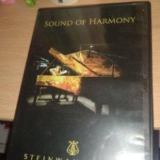 Vidéos y DVD Musicaux: SOUND OF HARMONY - STEINWAY & SONS. Lote 212905136