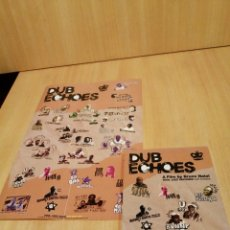 Vídeos e DVD Musicais: DUB ECHOES. A FILM BY BRUNO NATAL. JAMAICAN ROOTS TO ELECTRONIC MUSIC. LEE PERRY, KING JAMMY, ETC. Lote 212926200