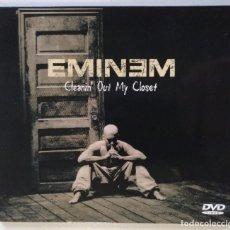 Vídeos y DVD Musicales: EMINEM - CLEANIN' OUT MY CLOSET (( USA HIP HOP / RAP EDITION DIGIPAK DVD VIDEO)) [[2002]]. Lote 213019320