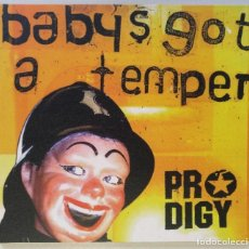 Vídeos y DVD Musicales: PRODIGY - BABY'S GOT A TEMPER (( UK EDITION ELECTRONIC / BREAKBEAT DIGIPAK DVD VIDEO)) [[2002]]. Lote 213019801