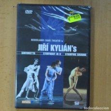 Vidéos y DVD Musicaux: JIRI KYLIAN´S - SINFONIETTA / SYMPHONY IN D / STAMPING GROUND - DVD. Lote 213561298
