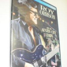 Vídeos y DVD Musicales: DVD ROY ORBISON. LIVE AT AUSTIN CITY LIMITS. 72 MIN CAJA FINA (PRECINTADO). Lote 213903247