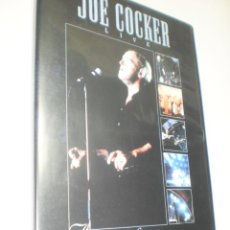 Vídeos y DVD Musicales: DVD JOE COCKER LIVE. ACROSS FROM MIGNIGHT TOUR. 90 MIN CAJA FINA (BUEN ESTADO). Lote 214394535